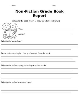 How to write a book summary second grade