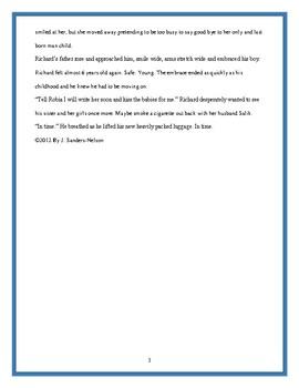 Non-linear Plot Short Story