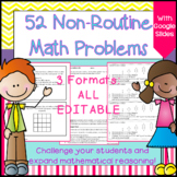 Math Enrichment: Math Challenge Problems for Older Students (Distance Learning)