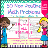 Math Enrichment: Math Challenge Problems for Younger Students