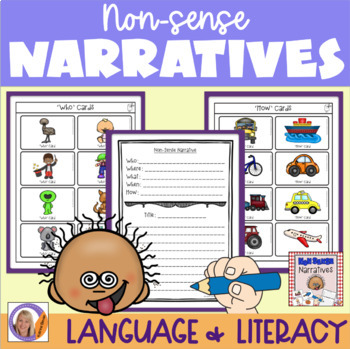 Story writing: non-sense narratives for speech and language therapy