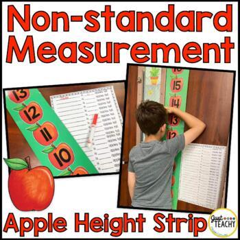 Non-standard Measurement Apple Height Strip