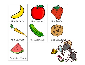 Non standard measurement with ants- French Immersion