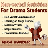 Non-verbal Bundle For Drama Students