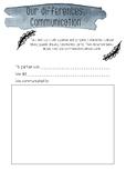 Non-verbal communication activity printable