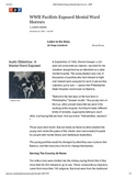 Keystone Test Prep-NonFiction: WWII Pacifists Exposed Mental Ward Horrors