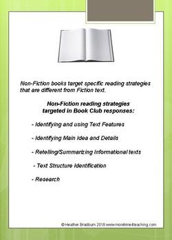 NonFiction Book Club Response