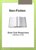 NonFiction Book Club Response