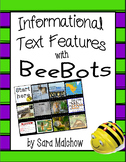 NonFiction / Informational Text Features BeeBot Mat