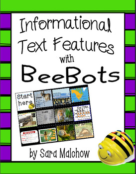 NonFiction / Informational Text Features BeeBot Mat
