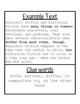 NonFiction Text Structures Lesson Pack