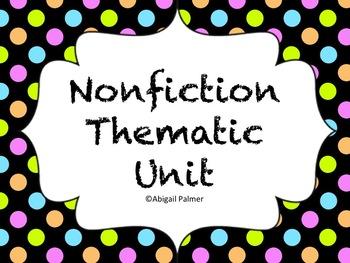 NonFiction Thematic Unit