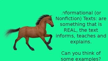 NonFiction VS Fiction Text