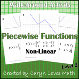 Graphing Piece-wise-defined Functions~Non-Linear-Quadratic, Square Root & Linear