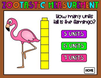 NonStandard Measurement PowerPoint Game
