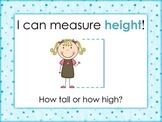 NonStandard and Standard Measurement of Length and Height