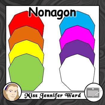 Nonagon Clipart