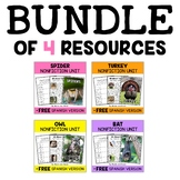 Nonfiction Units - Fall Animal Bundle