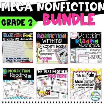 Nonfiction 2nd Grade MEGA Bundle