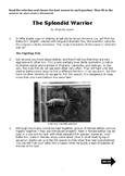 Nonfiction 5th STAAR Passage - Vocab and Informational TEKS (Betta fish)