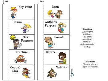Word Wall Nonfiction Academic Vocabulary and Interactive Notes