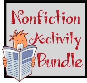 Nonfiction Bundle--Multiple Activities for Teaching Nonfiction Features