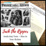 Jack the Ripper: Tone & Bias in the Media Coverage of this