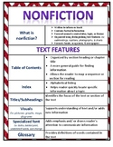 Nonfiction Anchor Chart