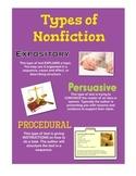 Nonfiction Anchor Chart Set
