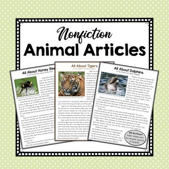 Nonfiction Animal Articles