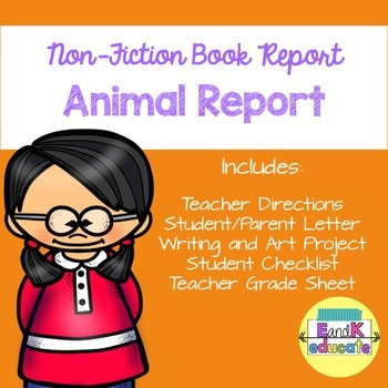 Nonfiction Animal Book Report