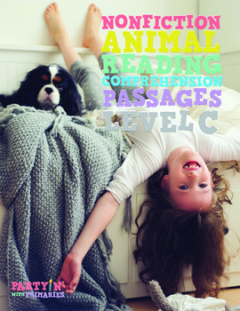 Reading Comprehension Passages Nonfiction Animals: Guided Reading Level C