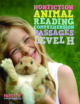 Nonfiction Animals Reading Comprehension Passages: Guided Reading Level H