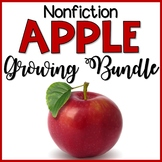 Nonfiction Apple Growing Bundle | Math and Literacy Centers
