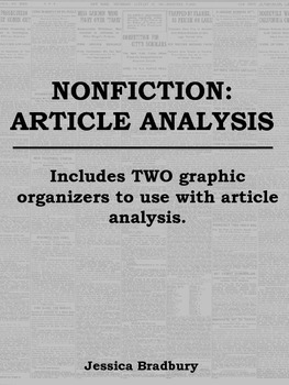Nonfiction - Article Analysis