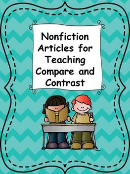 Nonfiction Articles for Compare and Contrast
