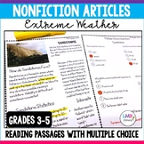 Nonfiction Articles on Extreme Weather , Reading Passages