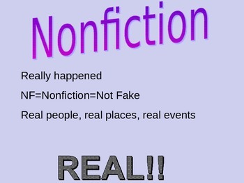 Nonfiction Basics
