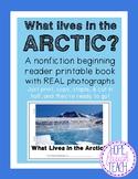 Nonfiction Beginning Reader Printable Book - Arctic
