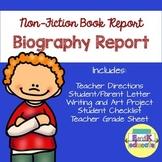 Nonfiction Biography Book Report