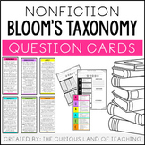 Nonfiction Bloom's Taxonomy Question Cards