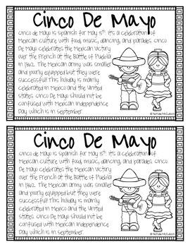 Nonfiction Book About Mexico- Featuring Cinco De Mayo