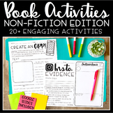 Nonfiction Book Activities | Book Projects For Any Text