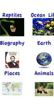Nonfiction Book Bin Labels