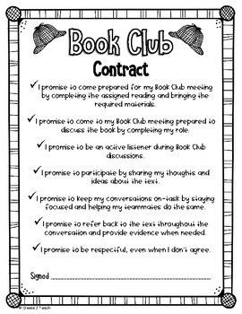 Nonfiction Book Club Circles Role Activity Booklets and Resources