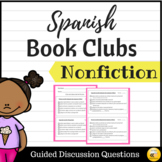 Nonfiction Book Club Guided Questions {SPANISH}