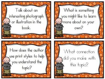Book Club Cards - Nonfiction