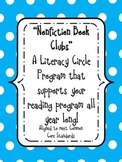 """Nonfiction Book Clubs"" A Literature Program-supports CCS reading all year!"