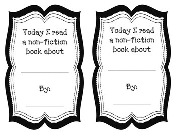 Nonfiction Book Investigation
