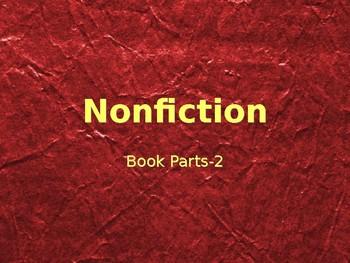Nonfiction Book Parts- Dictionary Skills